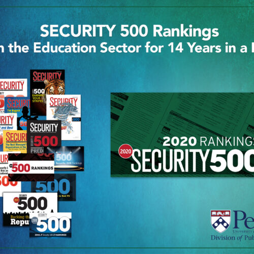 Security 500 Rankings poster