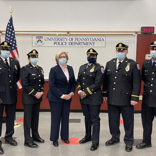Photo of the newly promoted members of the UPPD.