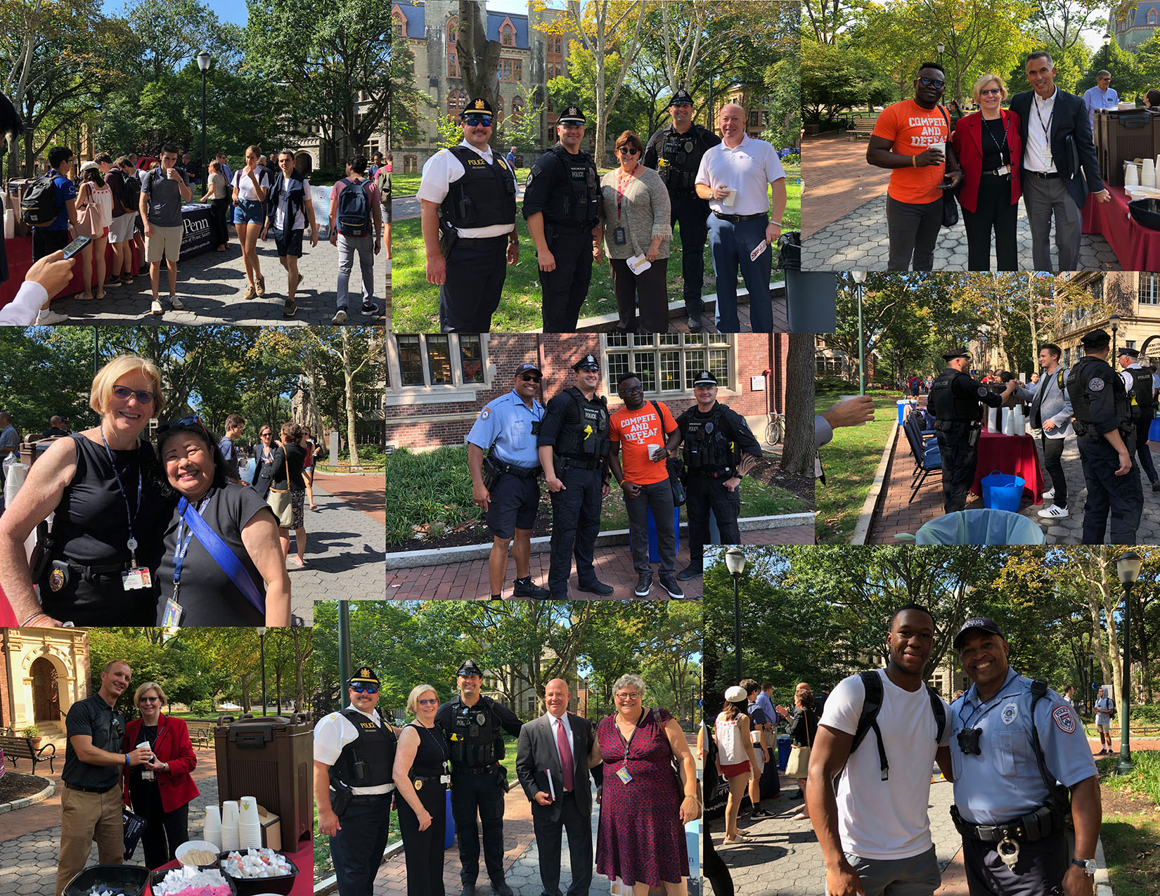 coffee with a cop on college green2019