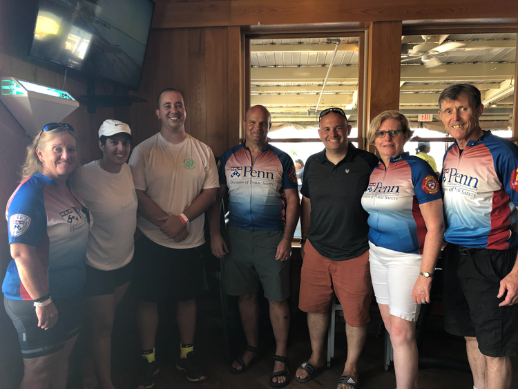 Ben to the shore charity riders 1