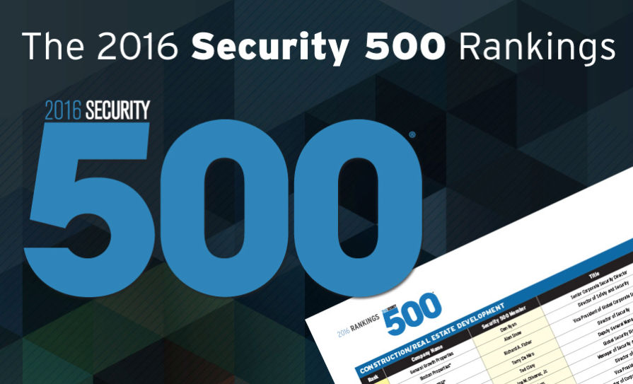 Security 500 Ranking